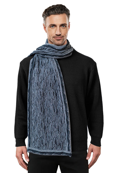 Wave - Black Scarf