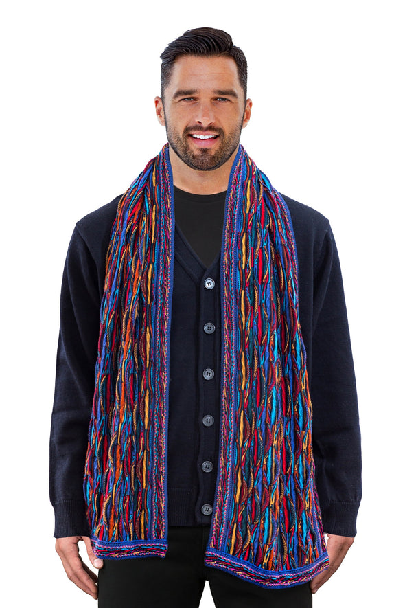 Wave - Bright Scarf