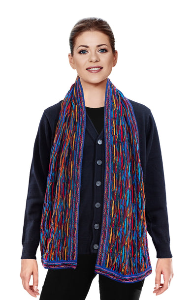 Wave - Bright Scarf Geccu 3D Multi Colour