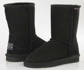 Ladies Black Classic Short Ugg