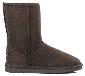 Ladies Chocolate Classic Short Ugg Ugg Boots