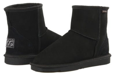 Ladies Black Classic Ultra Short Ugg
