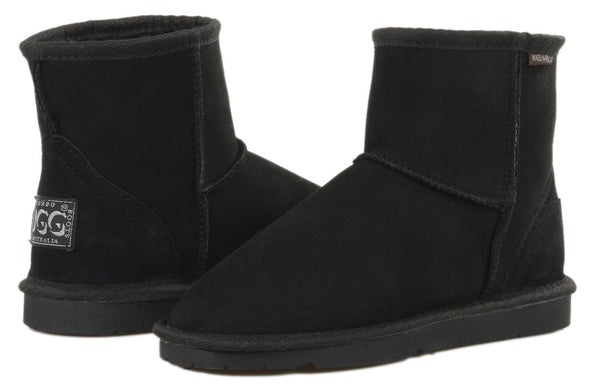 Ladies Black Classic Ultra Short Ugg Ugg Boots