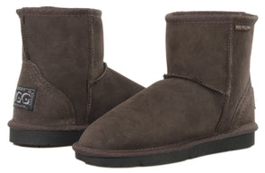Ladies Chocolate Classic Ultra Short Ugg