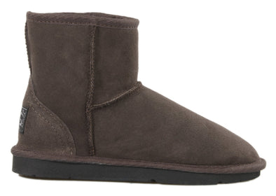 Ladies Chocolate Classic Ultra Short Ugg Ugg Boots