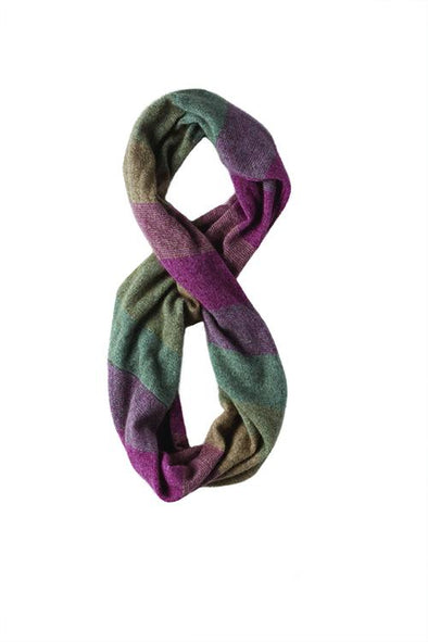 Heather Possum Merino Silk Ombre Snood Possum Accessories