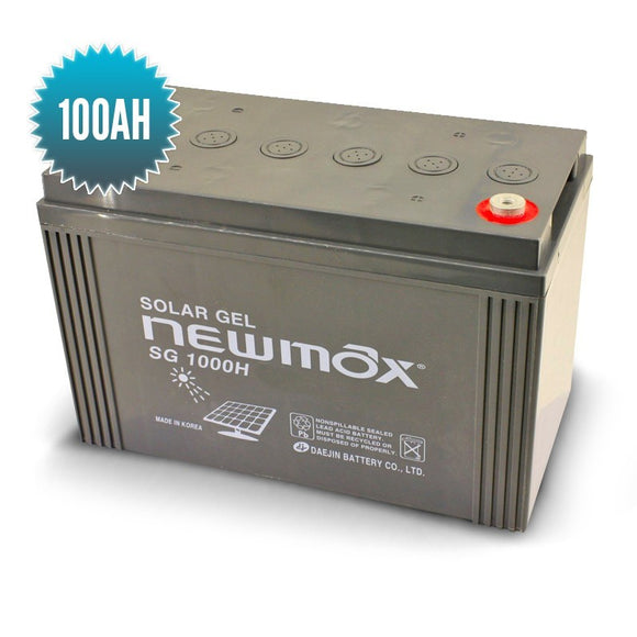 Batterie Gel NEWMAX 100AH