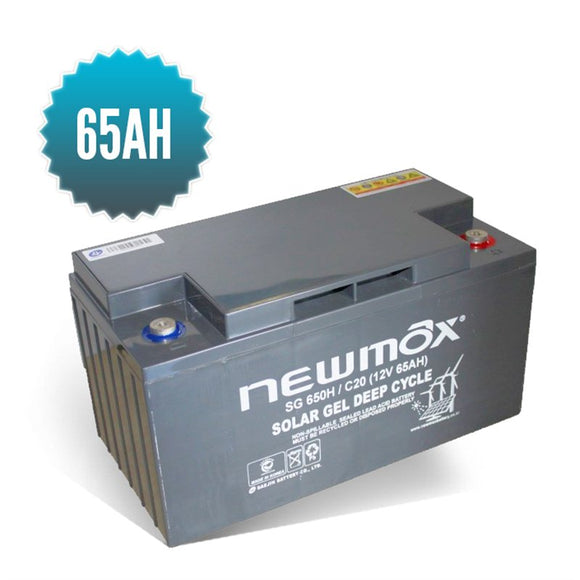 Batterie Gel NEWMAX 65AH