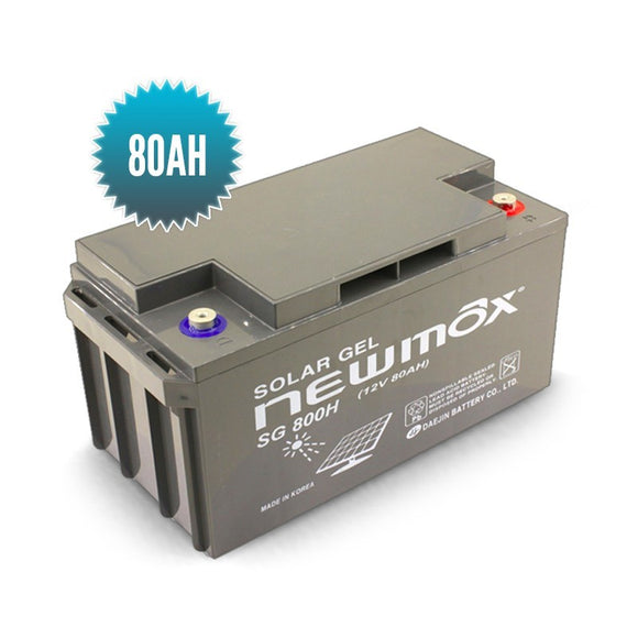 Batterie Gel NEWMAX 80AH