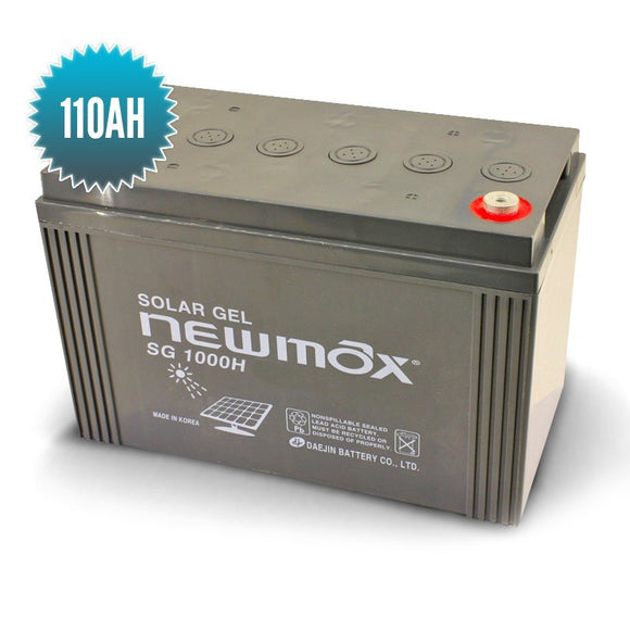Batterie Gel NEWMAX 110AH