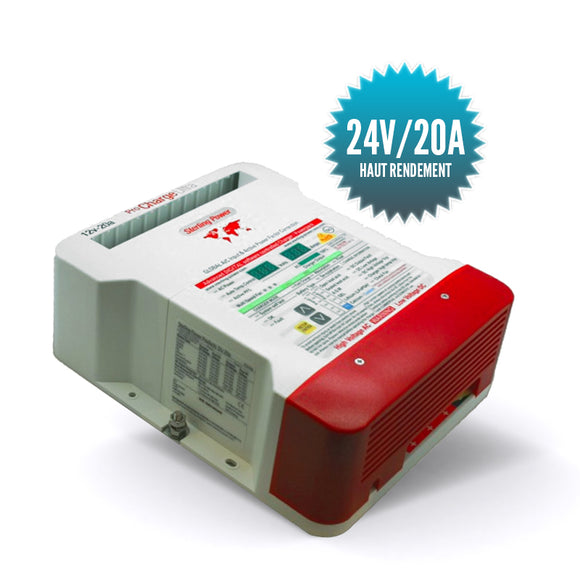 Chargeur de batterries Pro Charge U 24V 20A
