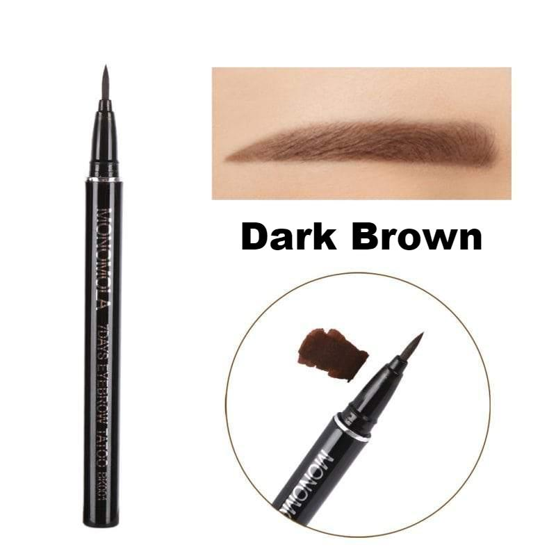 Monomola 7 Days Waterproof Eyebrow Tattoo Pen Trend Volt