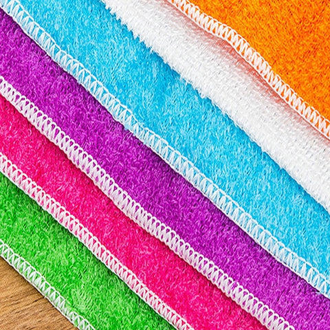 microfiber washcloth for kitchen cleaning