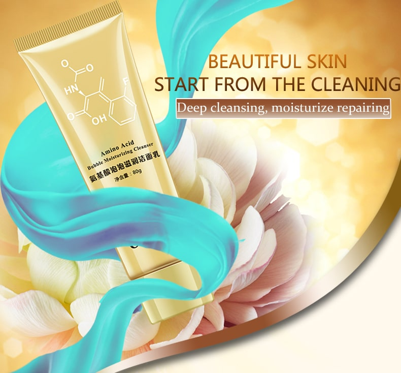 Amino acid cleanser for skin rejuvenation