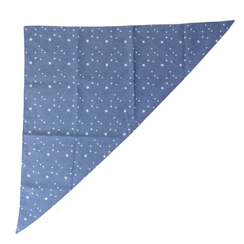 Blue Sky Triangular Bandana