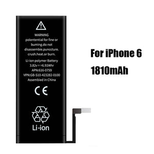 2019 PINZHENG High Capacity Phone Battery For iPhone 6 6S 4 Replacement Batterie 0 Cycle Battery For iPhone 6 6S With Tools Kit - Amzon World