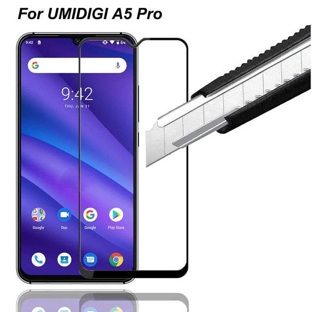 2Pcs HD Full Screen Protective Glass For UMIDIGI A5 PRO - Amzon World
