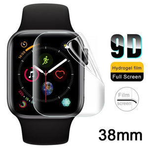 2Pcs Soft Hydrogel Full Screen Protector Film For Apple Watch 38mm 42mm 40mm 44mm Tempered Film For iwatch 4/3/2/1 Not Glass - Amzon World