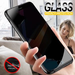 Anti Spy Tempered Glass For iPhone 7 6 6S 8 Plus X XS XR, iPhone 6 7 8 XS Max - Amzon World