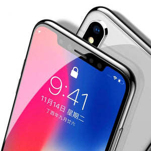 0.3mm Screen Protector Tempered Glass For iPhone Xs Max X Xr S 3D Full Cover Protective Glass - Amzon World