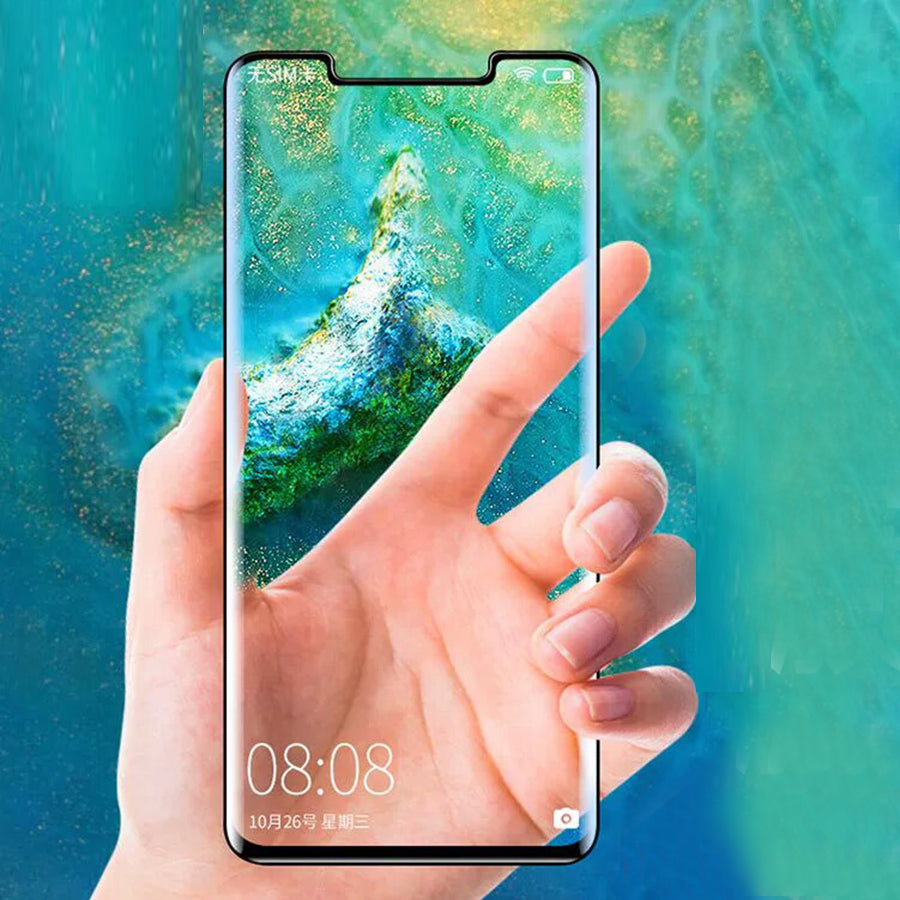 For LG G7 ThinQ V30 V40 3D Full Cover Clear Tempered Glass Screen Protector - Amzon World