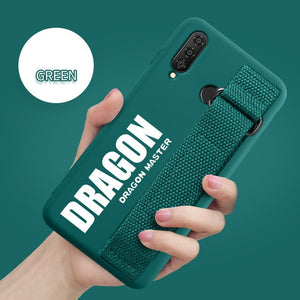 For Samsung Galaxy S20 S10 Plus S10e Lite S9 S8 Note 10 5G 9 8 A9S A8S A6S Case Soft Silicon Matte Cover Hand Strap Case Funda - Amzon World