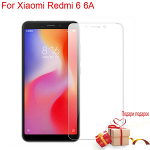 For Xiaomi Redmi 6 6A Global Version 9H 2.5D HD Tempered Glass JGKK For Xiaomi Redmi 6/6A - Amzon World