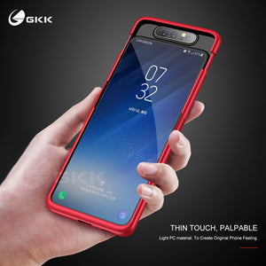 GKK Case for Samsung A80 Case 360 Full Protection With Tempered Glass 3 in 1 Matte Hard Cover For Samsung Galaxy A80 case fundas - Amzon World