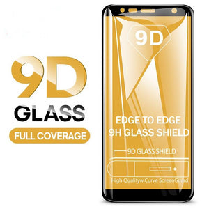 9D Tempered Glass For Samsung Galaxy J4 Plus J6 J8 A6 A8 A7 2018 Screen Protector A5 A3 A7 2017 Protective Glass Film - Amzon World