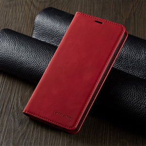 Leather Flip A50 A70 A40 A30 A20 A10 A51 A71 Case For Samsung S9 S8 S7 Edge S10 S20 Ultra Plus A7 A8 2018 Note 9 10 Magnet Cover - Amzon World