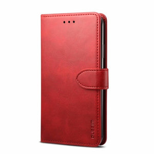 Luxury Leather Magnetic Flip Case for iphone11 11pro 11pro max Xr Xs Max X  Wallet Cover for iphone 8 7plus 6 6s Plus coque - Amzon World