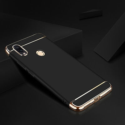 Luxury Plating Case For Xiaomi Redmi 7 4X 4A Note 6 Pro Hard Back Cover Case For Redmi Note 7 Pro Redmi S2 6A 6 Pro Phone Case