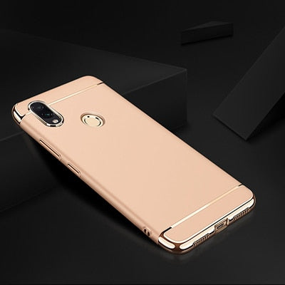 Luxury Plating Case For Xiaomi Redmi 7 4X 4A Note 6 Pro Hard Back Cover Case For Redmi Note 7 Pro Redmi S2 6A 6 Pro Phone Case - Amzon World