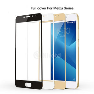 9H Full Cover Tempered Glass For Meizu M3 Note M3S M3 Mini Max M3E M3X Pro 6 Plus U10 U20 M5 Note M5s Protective Film - Amzon World