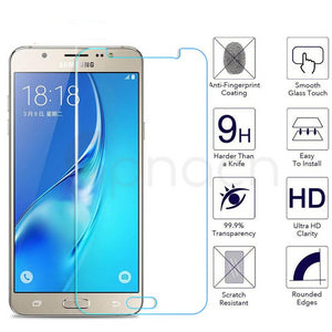 Premium Tempered Glass on the For Samsung Galaxy J3 J5 J7 2015 2016 2017 J2 J4 J6 J8 2018 Screen Protector Protective Glass Film - Amzon World