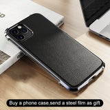 Ultra Thin Leather Case For iPhone 11 Pro Max X XR XS Max Cover  Soft TPU Case For iPhone 11 Pro Max 2019
