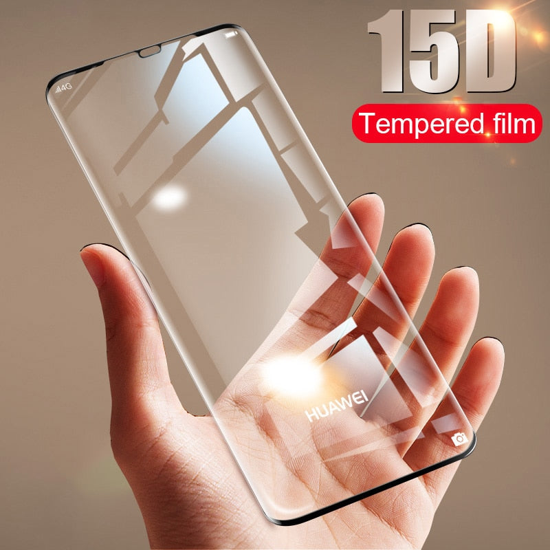15D Tempered Glass For Huawei P30 P20 P10 Lite Screen Protector Film - Amzon World