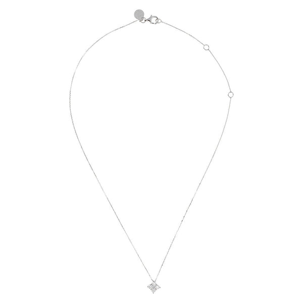 ONCE UPON A TIME WHITE DREAM  CZ GEMSTONE PENDANT W/ 47CM NECKLACE - WSBC00047 from above