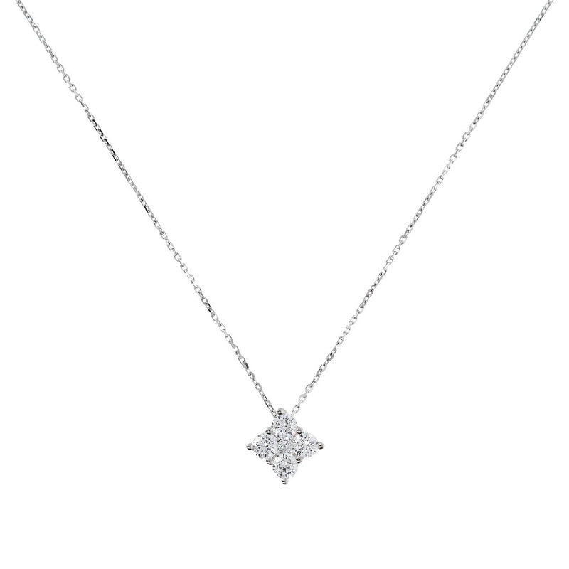 ONCE UPON A TIME WHITE DREAM  CZ GEMSTONE PENDANT W/ 47CM NECKLACE - WSBC00047
