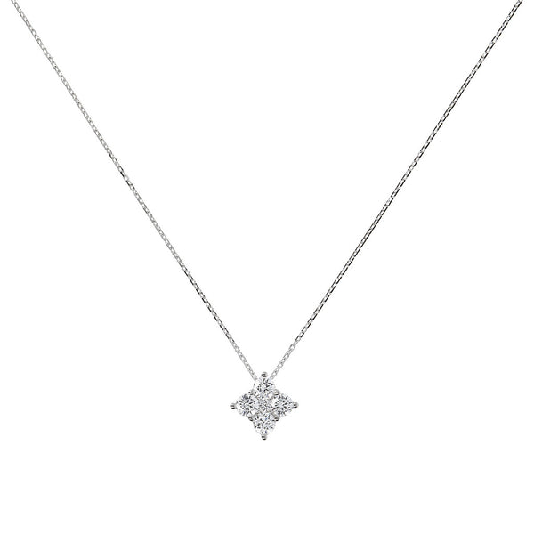 ONCE UPON A TIME WHITE DREAM BIANCA MILANO MARGHERITA NECKLACE W/ CZ PENDANT - WSBC00008