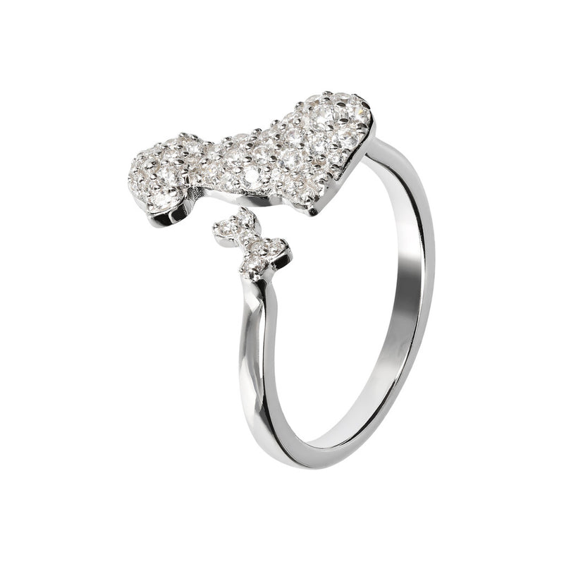 CZ Solitaire Ring CUBIC ZIRCONIA setting