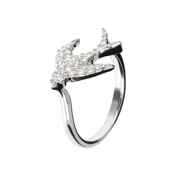 CZ Solitaire Ring setting