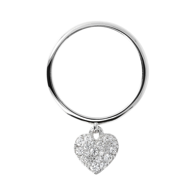 Circle Heart Ring setting