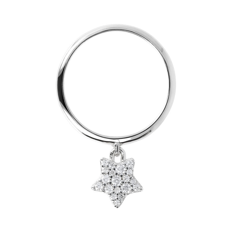 Circle Star Ring setting