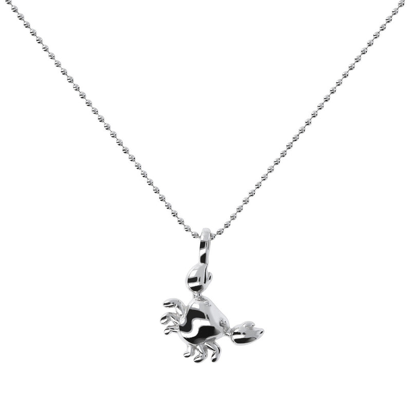 Crab Pendant Necklace