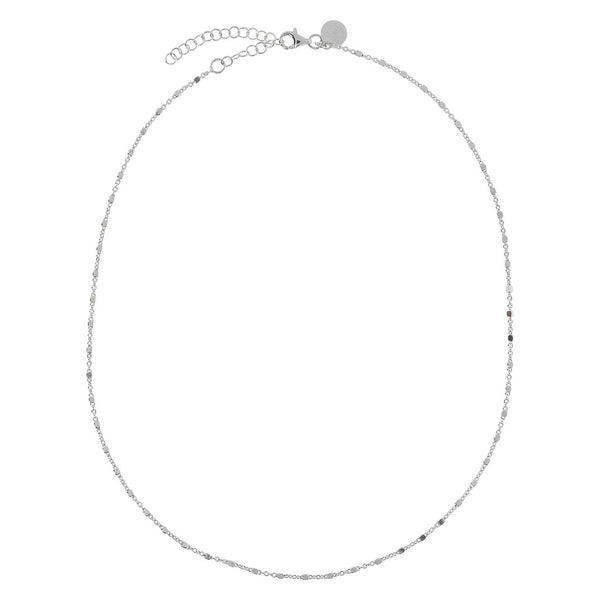 SUCH A PERFECT DAY MYESSENTIALS SHINY/DC ROSARIO necklace - WSBC00160 from above