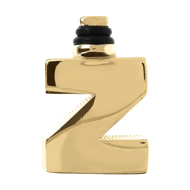 DUO BY BIANCA MONOGRAM - LETTER Z - WSDO00006 YELLOW GOLD