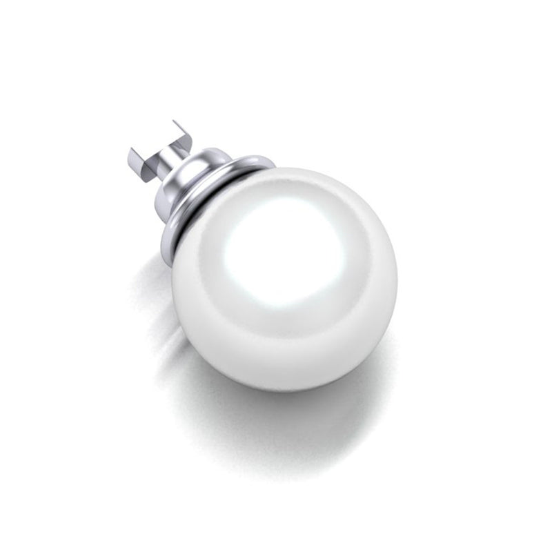 DUO BY BIANCA VIRTUES WHITE PEARL DUO CHARM - WSDO00023 WHITE PEARL