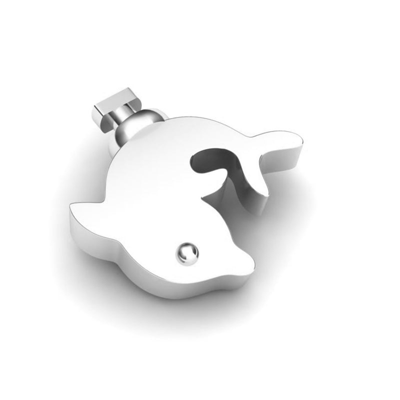 Duo Interchangeable Dolphin Charm