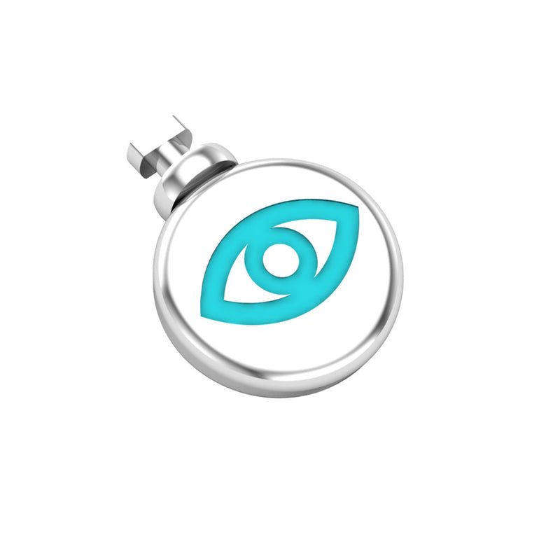 Duo Interchangeable Round Eye Charm